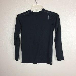 Reebok Boy's Black Long Sleeve Shirt